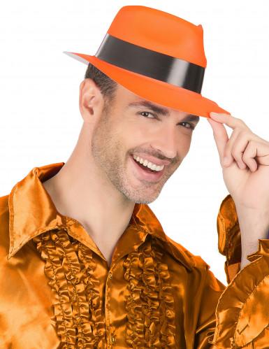 Oranssi gangsterin hattu aikuisille-2