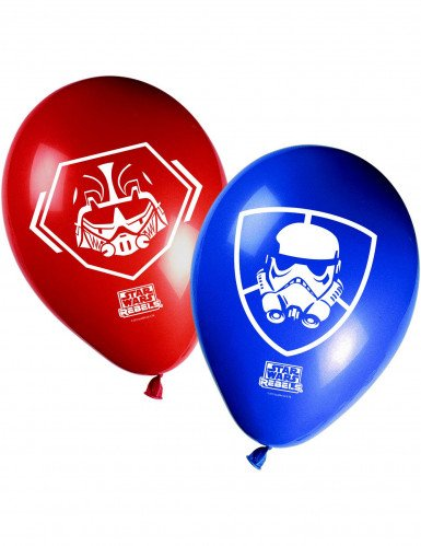 Disney™ Star Wars Rebels-ilmapallot 8 kpl