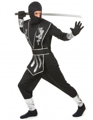 Hopea lohikäärme - Aikuisen ninjan naamiaisasu-1