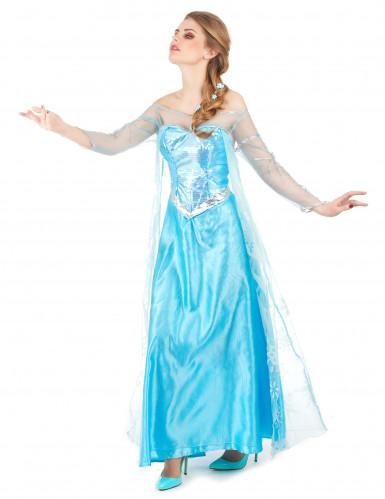 Aikuisten Frozen™ Elsa-asu-1