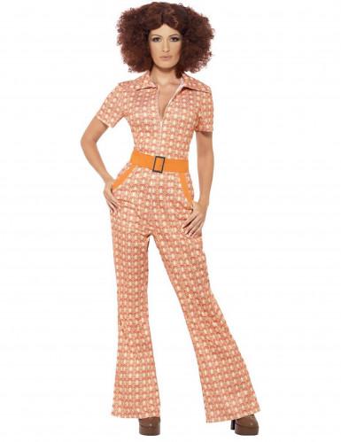 Tyylikäs 70-luvun naamiaisasu naiselle