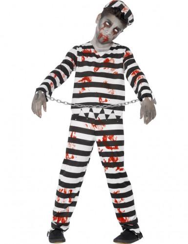 Zombievangin naamiaisasu lapselle halloweeniin