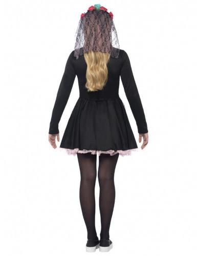 Värikäs Halloween luuranko-asu nuorille-1