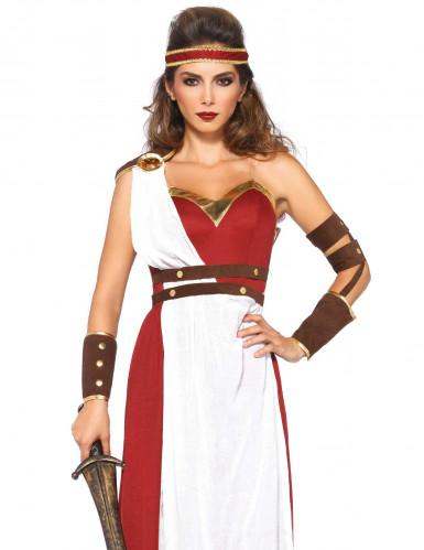 Roomalaisen naissoturin naamiaisasu aikuiselle-1