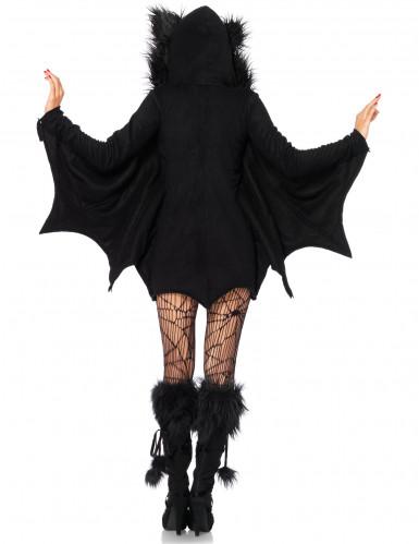 Naisten Halloween lepakko naamiaispuku-2