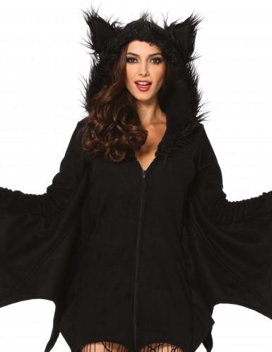 Naisten Halloween lepakko naamiaispuku-1