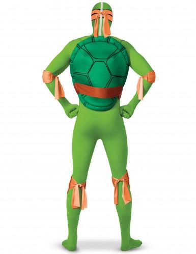 Turtles Michelangelon™ second skin -haalari aikuiselle-1