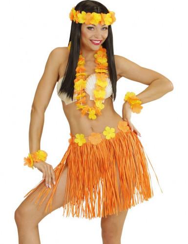 Oranssi-keltainen Havaiji-kokonaisuus aikuisille