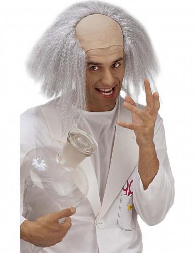 Hullun tiedemiehen peruukki aikuiselle