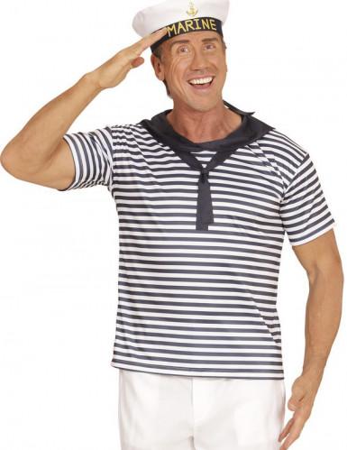 Merimiehen paita ja lakki aikuisille