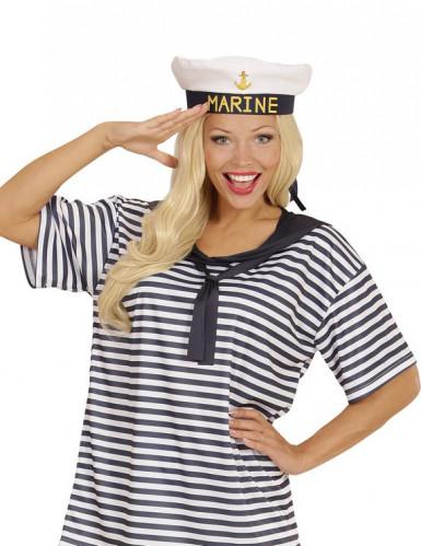Merimiehen paita ja lakki aikuisille-1