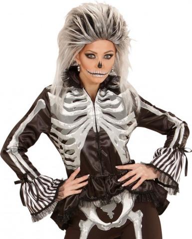 Luurangon kauluspaita naiselle halloween