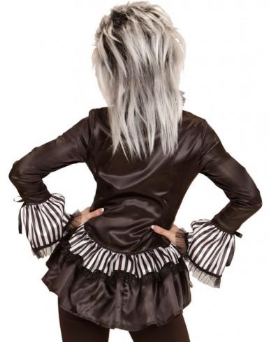 Luurangon kauluspaita naiselle halloween-1