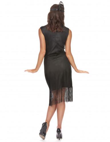 Musta charleston mekko hapsuilla - 1920-juhliin-2