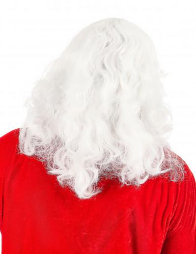 Joulupukin klassinen parta ja peruukki-1
