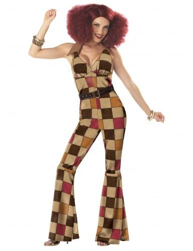 Disco Boogie -naamiaisasu naiselle