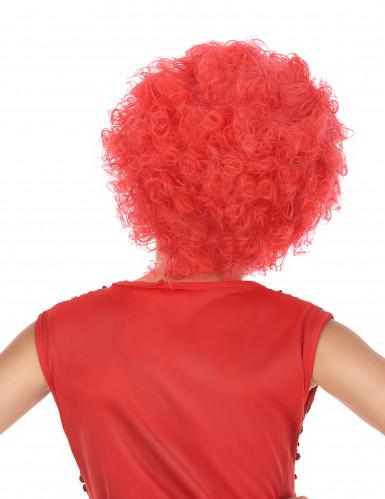 Diskotyylinen punainen peruukki lapsille-1