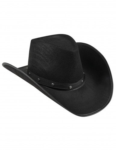 Musta cowboy-hattu