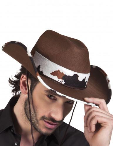 Idän Cowboyn hattu nauhalla