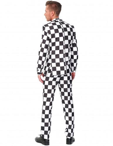 Miesten ruudullinen Suitsmeister™-puku-1