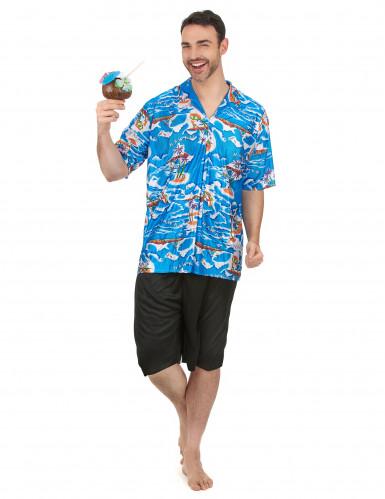 Havaijilaisturistin asu miehille