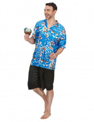 Havaijilaisturistin asu miehille-1