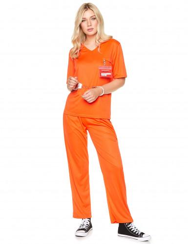 Aikuisten oranssi vankiasu