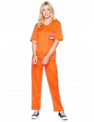 Aikuisten oranssi vankiasu-1
