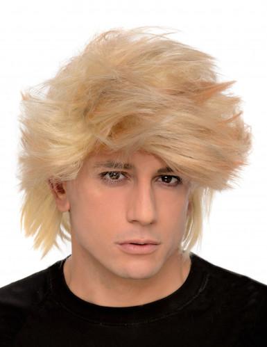 Miesten vaalea peruukki