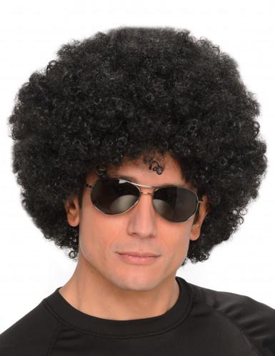 Miesten musta afroperuukki
