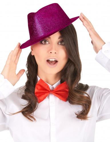 Aikuisten paljettikoristeltu vaaleanpunainen hattu-1