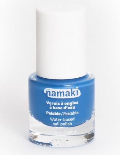 Vesipohjainen pois kuorittava kynsilakka 7,5 ml - sininen - Namaki Cosmetics©