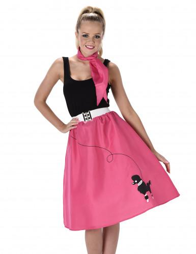 Pinkki 50- luvuntanssiasu-1