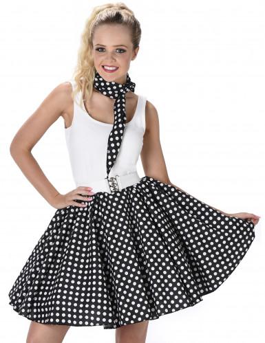 50- luvun musta tanssihame-1
