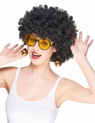 Kullanväriset diskohenkiset aurinkolasit aikuisille-1
