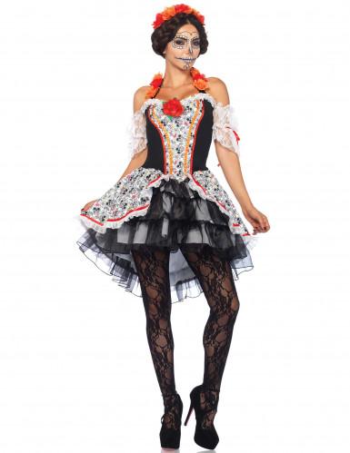 Kuolleiden päivän mekko naiselle