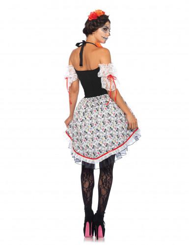 Kuolleiden päivän mekko naiselle-1