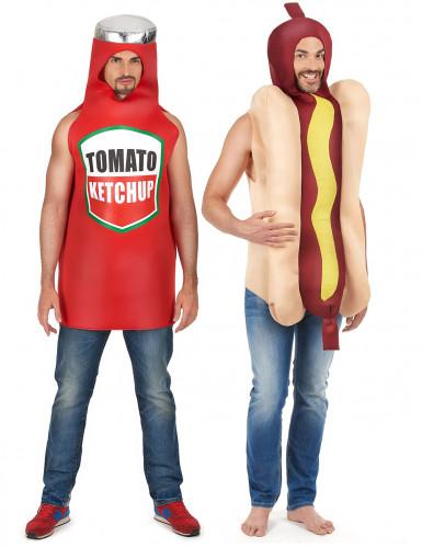Hot dog ja ketchup -pariasu aikuisille
