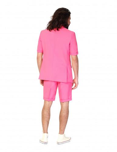 Miesten vaaleanpunainen Opposuits™- puku kesä-1