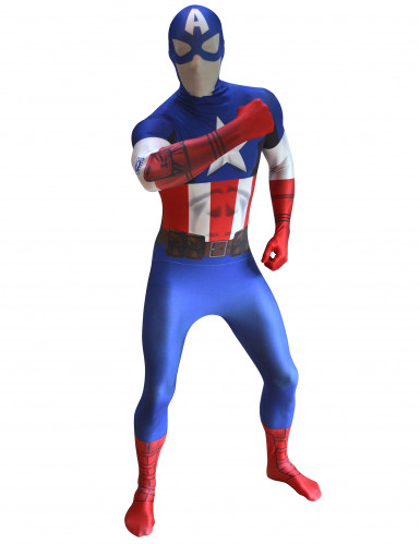 Kapteeni Amerikka™ - Morphsuits™-asu aikuisille