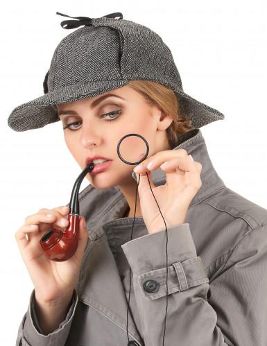 Brittiläisen etsivän hattu aikuisille-1