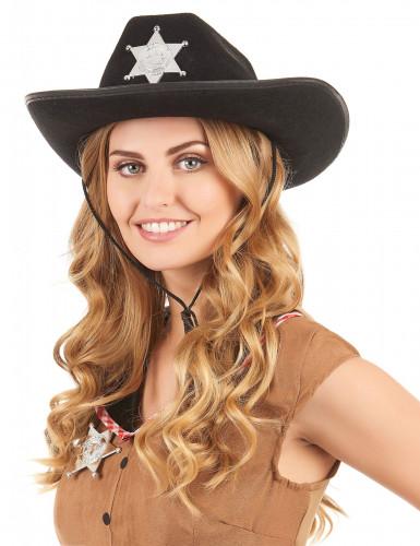 Aikuisten musta hattu Sheriffi-1