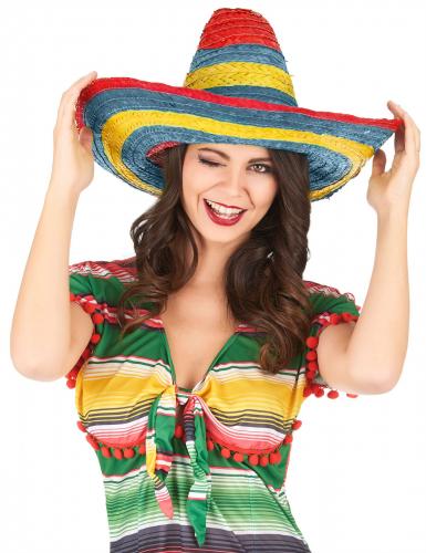Meksikolainen Sombrero - Naamiaishatut-1