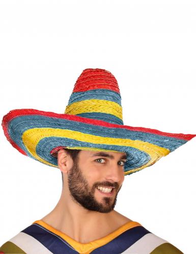 Meksikolainen Sombrero - Naamiaishatut-2