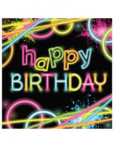 Happy Birthday -servetit 16 kpl