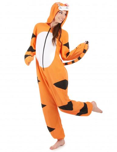Hupullinen tiikerihaalari naisille-1