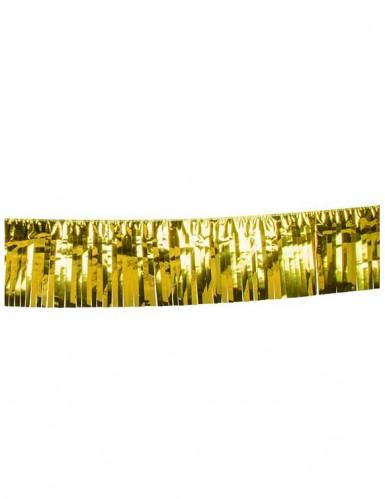 Kultainen hapsukoristenauha 6 m