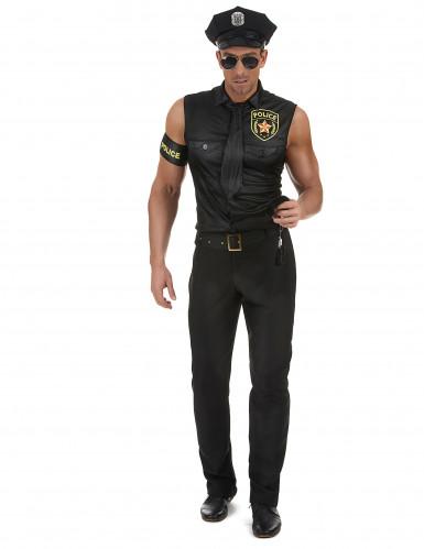 Poliisi-naamiaisasu aikusille-1