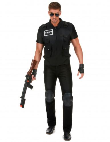 SWAT-ryhmän naamiaisasu aikuisille