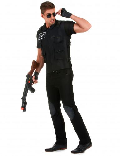 SWAT-ryhmän naamiaisasu aikuisille-1
